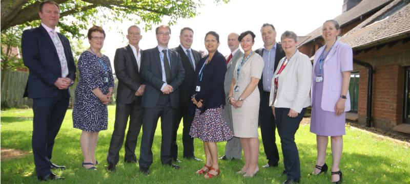 Image of NHFT Trust Board members
