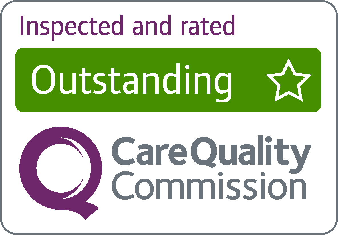 CQC inspected and rated outstanding