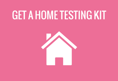 home testing kit - sexual health icons