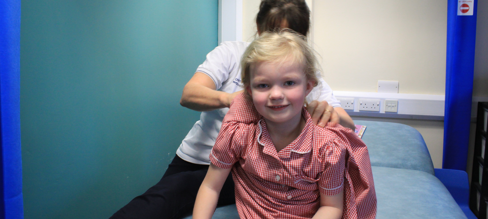 Child with physio