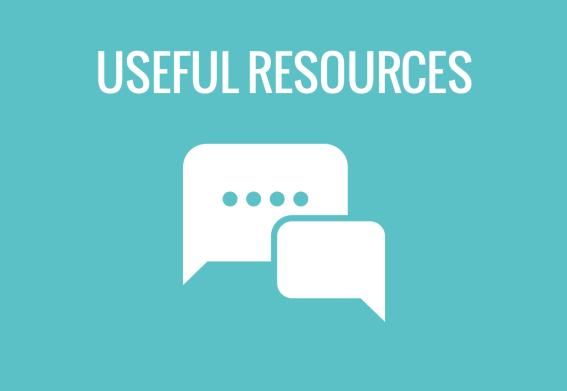 Icons useful resources