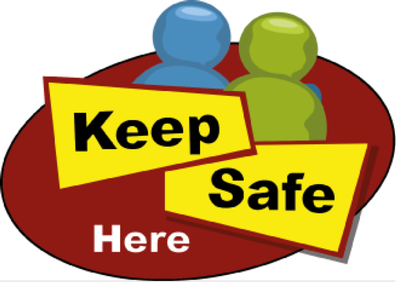 A logo for the keep safe scheme in Northamptonshire