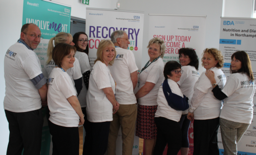 Image of staff hosting adult services workshop on 23 April to highlight involvement across NHFT