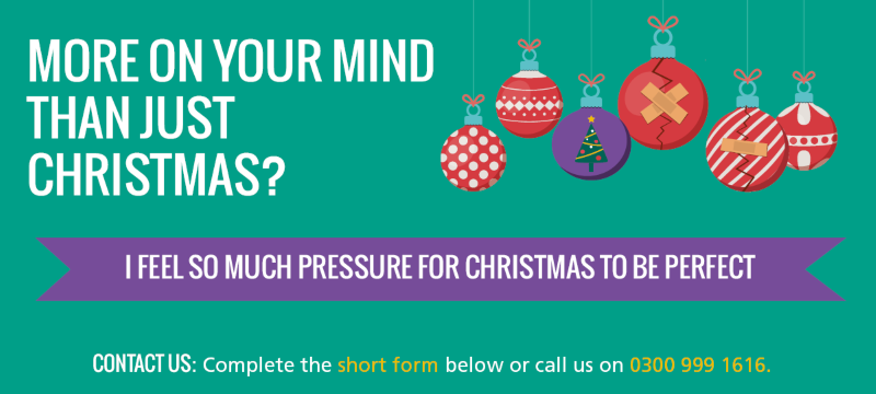 More on your mind than just christmas campaign - theme one