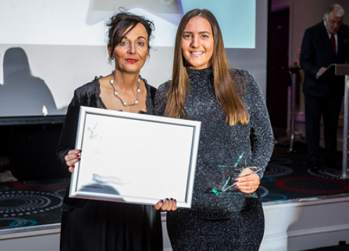 Image of Jess Hughes, therapy assistant from dementia and delirium team - patient choice quality awards winner 2019
