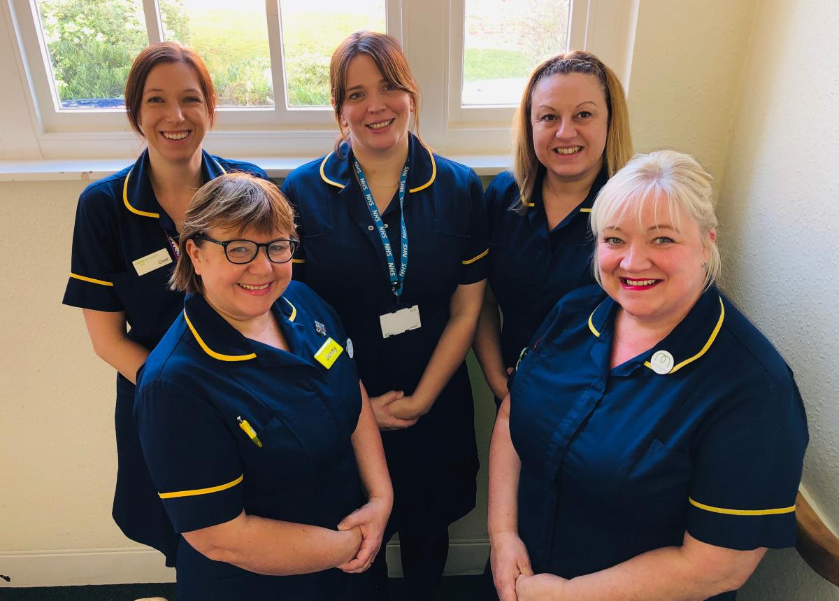 NHFT Infection Prevention and Control team who have risen to the challenge of Covid-19, working tirelessly to keep colleagues and service users safe.