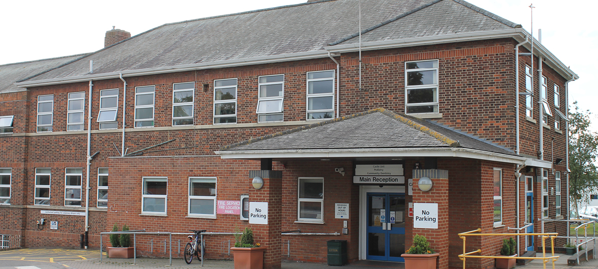 Isebrook Hospital Entrance