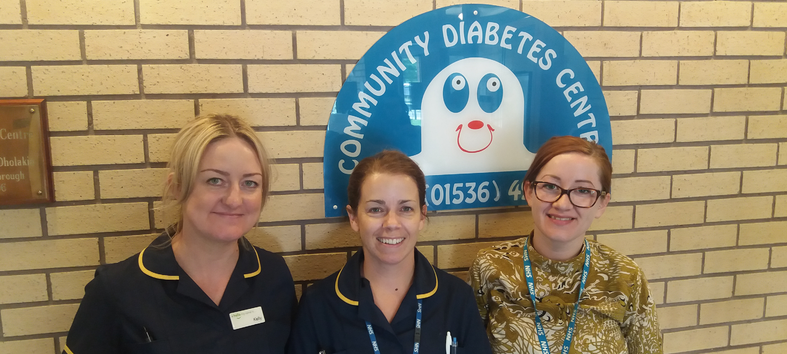 A photo of the NHFT Diabetes Team