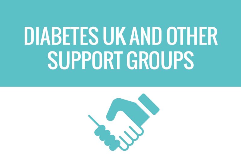 Button Diabetes UK and other support groups - button for website