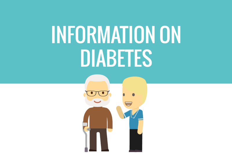 Buttons - Information on diabetes - website