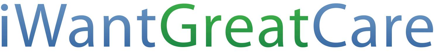 iWantGreatCare logo