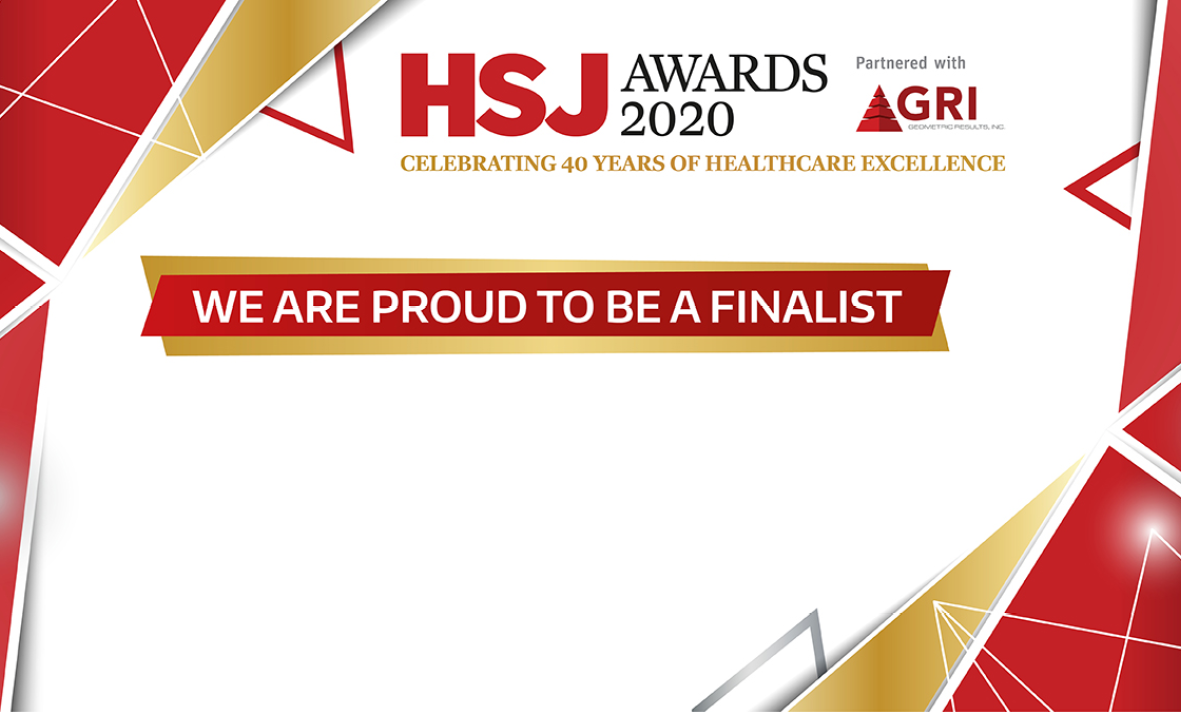 Health Service Journal shortlist logo