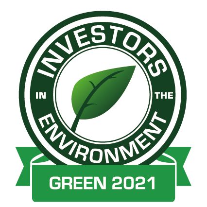 Investors in the environment award 2021