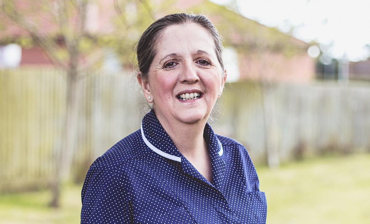 Chief Nurse Julie Shepherd