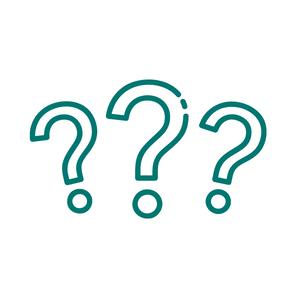 A question mark icon