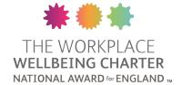 Logo for workplace wellbeing charter