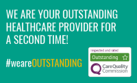 Image of CQC rating Outstanding following teamNHFT CQC inspection 2019