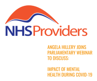 NHS Providers parliamentary webinar on impact of mental health during Covid-19